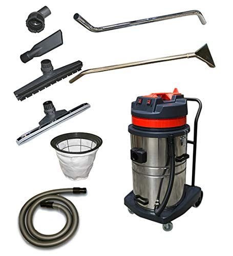 Great Features Of Janilink Wet/Dry Vacuum 2 Motors 18 GAL