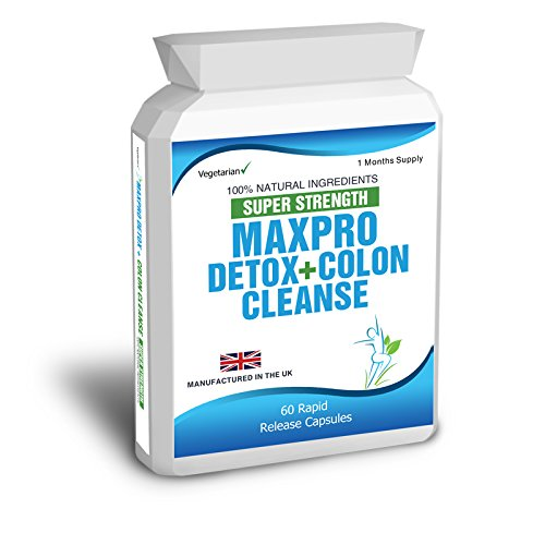 60 Max Cleanse Pro Colon Cleanse Detox Diet Slimming