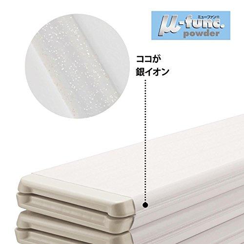 [ベルメゾン]風呂ふたAg抗菌防カビ折りたたみ風呂フタブラウン約70×89cm