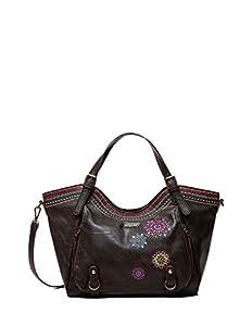 Desigual; Accessories; Back; Shoulder Bag; Brown BROWN