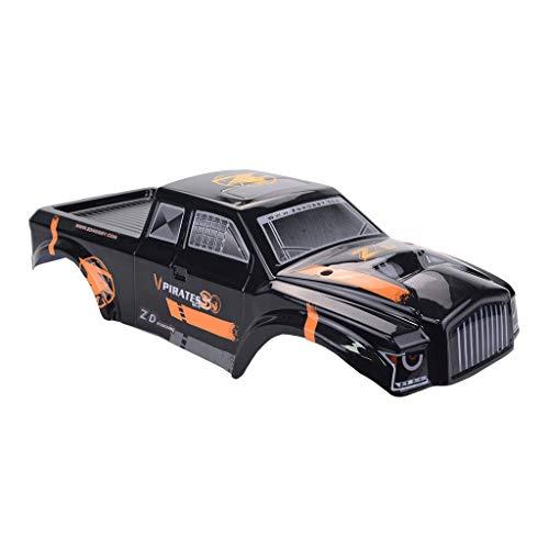 Moent Karosserieabdeckung Shell-Teil kompatibel mit ZD-Racing MT8 8427 1/8 Offroad Buggy RC Car, Autoabdeckung