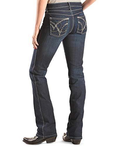 Wrangler Q-Baby Booty Up Jeans Dark Wash 0 36
