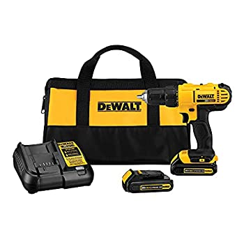 DEWALT 20V Max Cordless Drill / Driver Kit Compact 1/2-Inch  DCD771C2