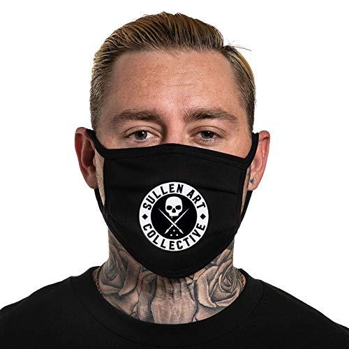 Sullen Men's BOH Face Cover Mask Protection Black/White