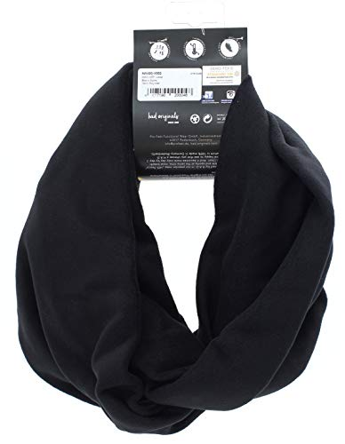 HAD HPF Loop Sjaals – zwart, één maat