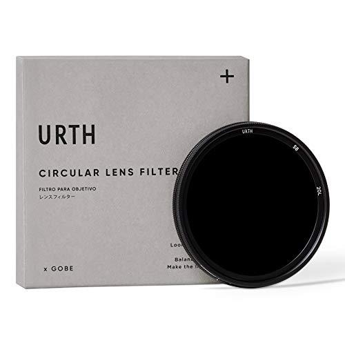 Urth x Gobe - Filtro per obiettivi ND variabile ND64-1000 (6-10 Stop) 58 mm (Plus+)