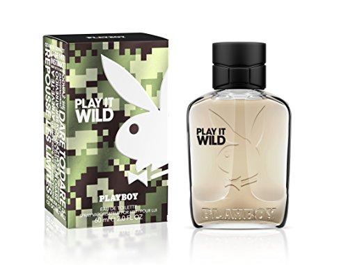 Playboy Play It Wild men Eau de Toilette, 1er Pack (1 x 60 ml)