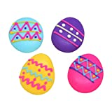 Set of 24 Edible Royal Icing Easter Eggs - Perfect for cakes & cupcakes! (Small)