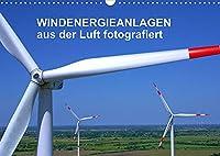 Windkraftanlagen aus der Luft fotografiert (Wandkalender 2022 DIN A3 quer): Die schoensten Windkraftanlagen aus der Luft betrachtet. (Monatskalender, 14 Seiten )