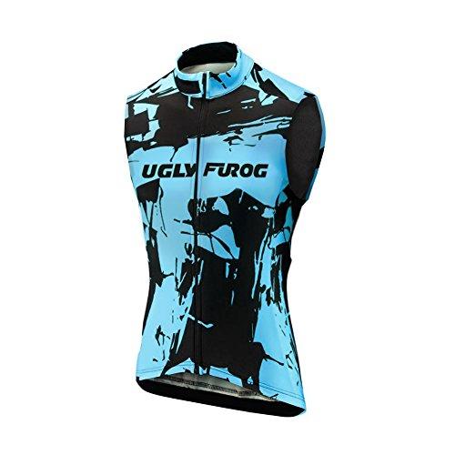 UGLY FROG 2020-2021 Freizeit Herren Westen Outdoor Sport MTB Ärmelloses Trikots & Shirts Männer Die Jersey Fahrrad Bekleidung Triathlon Vest Funktions Fahrradweste HSV2