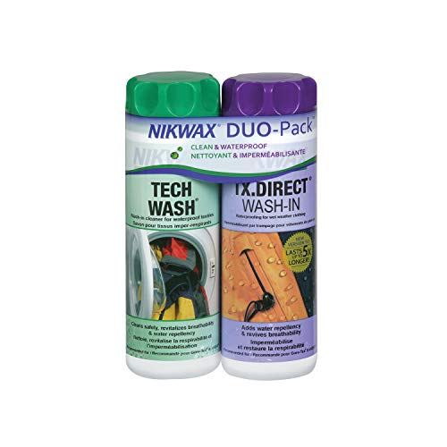 Nikwax Tech Wash/Tx. Direct Twin Pack Clean/Proof Value Pack - 300ml