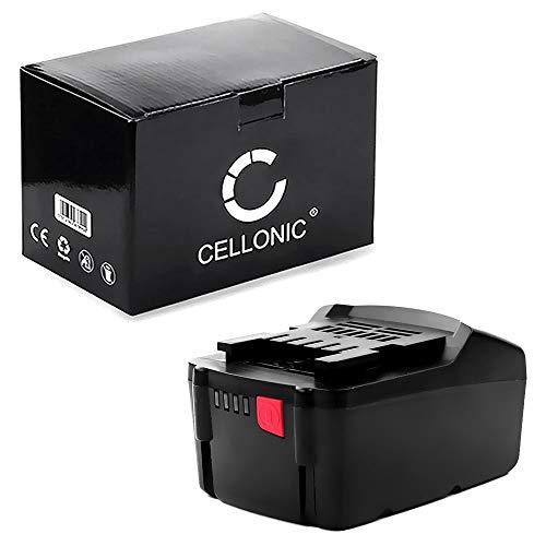 CELLONIC® Batería Premium 18V, 3Ah, Li Ion Compatible con Metabo BS18,BS 18 Li,SB 18 L,BS 18 LT BL, BS 18 LT, GA 18 LTX bateria de Repuesto 6.25455, 6.25468,6.25457, 6.25469 Pila