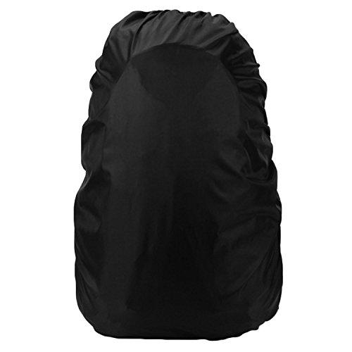 Sac à dos imperméable à l'eau en nylon couvre-pluie résistant à la pluie-preuve pour sac à dos caméra capacité inférieure à 35L