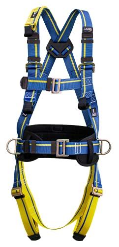 Irudek 100404500005 anticaídas Light Plus 4 Arnés básico con cinturón para Trabajos en Altura, L-XL