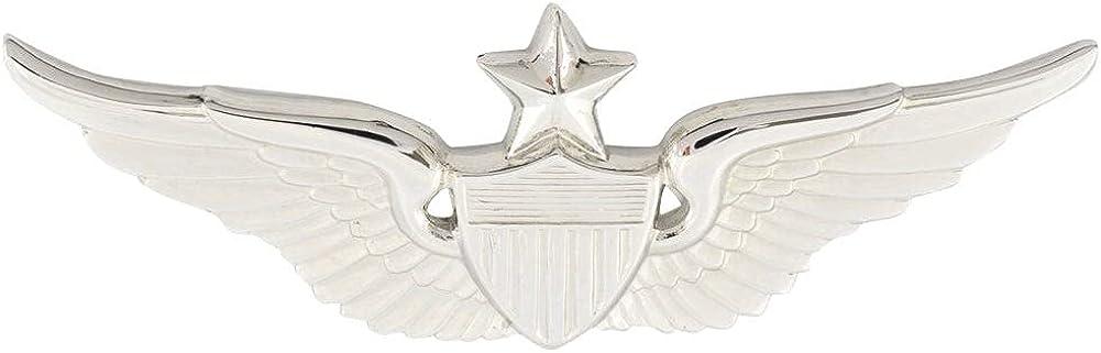 Army Senior Aviator Save money Badge Size Nickel Be super welcome Finish Full