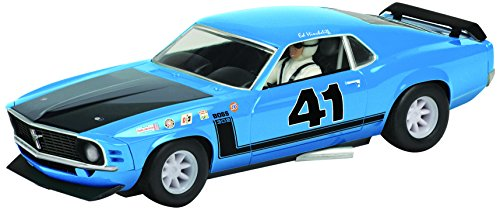 Scalextric Circuit Routier Echelle 1/32 Ford Mustang Boss 1969 logement de Voiture