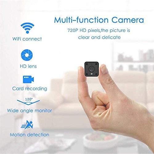 SYLOZ-URG 1080P HD Mini espía cámara Oculta, cámara de Interior/Exterior portátil con visión Nocturna y detección de Movimiento, Interior y Exterior de grabación de la cámara IP SYLOZ-URG