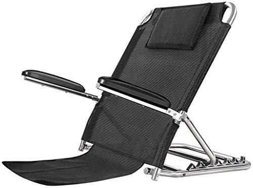 Z-SEAT Ligero Trabajo Pesado Discapacidad Ángulo Ajustable Tela Transpirable Respaldo de Respaldo Soporte de Cama Soporte de Respaldo Plegable Rehabilitación para Ancianos