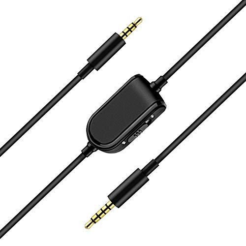 Aldoke A10 - Cable A50 Compatible con Auriculares Astro A10, A40, A30, A50, multifunción, 2 m