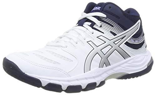 Asics Damskie buty do siatkówki 1072A051-102_40,5, białe, rozmiar 40,5