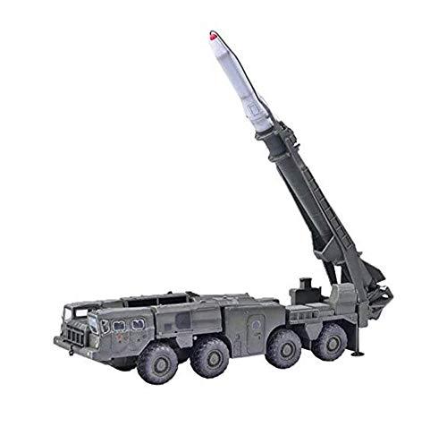 HYLL 1/72 Skala Diecast-Tank-Kunststoff-Modell, Scud D 9p117 Strategisches Raketenwerfer, Militärspielzeug und Geschenke
