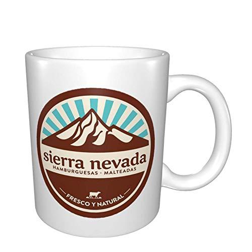 Sierra Nevada für Kaffee, Tee, Kakaotasse Tassen Weiß