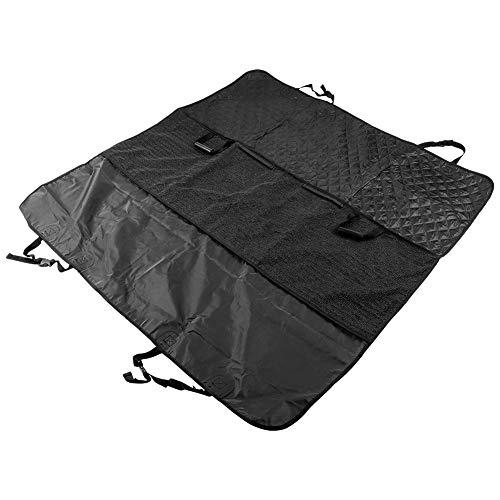 Suuonee Huisdier stoelbekleding, zwart auto achterbank Pet Mat Cover waterdicht Oxford doek Pet Dog hangmat zitbescherming