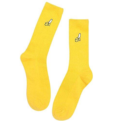 Calcetines para mujer amarillos