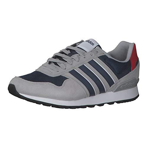 adidas 10K, Zapatillas de Running Hombre, Gridos/AZMATR/Escarl, 48 2/3 EU