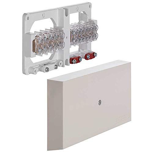 PROTEC.CLASS Geräteanschlussdose 3-Kammer PGAD 253, Weiß