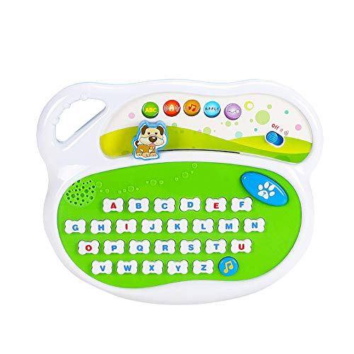 MINI Boutique El ABC Board Juguete educativo para niños Academy Learning Machine Excelente juguete para niños de más de 3 años con alfabeto de la A a la Z