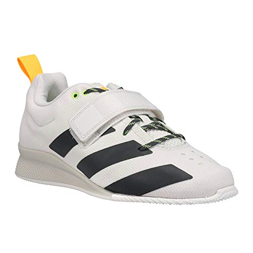adidas Women's Adipower Weightlifting ll Cross Trainer, Crystal White/Grey/Gold, 7