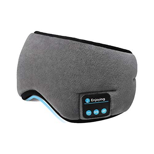 Bluetooth Sleeping Eye Mask Headphones,SKYEOL 5.0 Wireless Bluetooth...