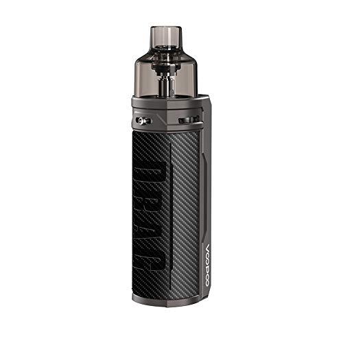 VOOPOO Drag X 80W 4.5ML Kit Complet Cigarette Electronique Kit de démarrage - Sans nicotine ni tabac (Fibre Carbone)