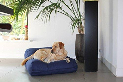 Dog's Companion® Hundebett dunkelblau baumwolle small