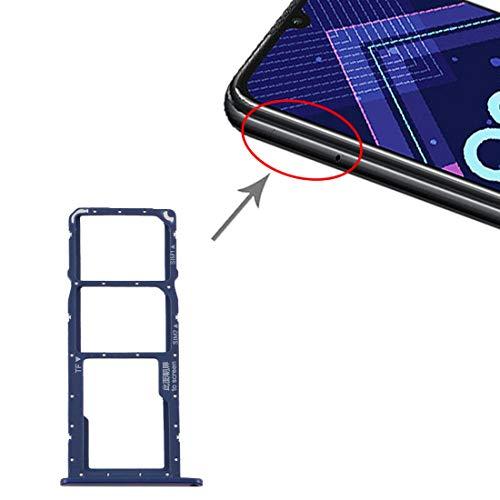 Outils et Accessoires pour Cartes SIM SIM Card Bac + Tray Carte SIM + Micro SD for Carte Tray Huawei Honor 8A Pro (Color : Blue)
