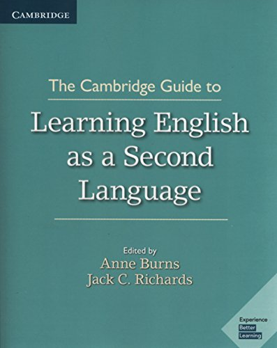 Compare Textbook Prices for The Cambridge Guide to Learning English as a Second Language 1 Edition ISBN 9781108408417 by Burns, Anne,Richards, Jack C.