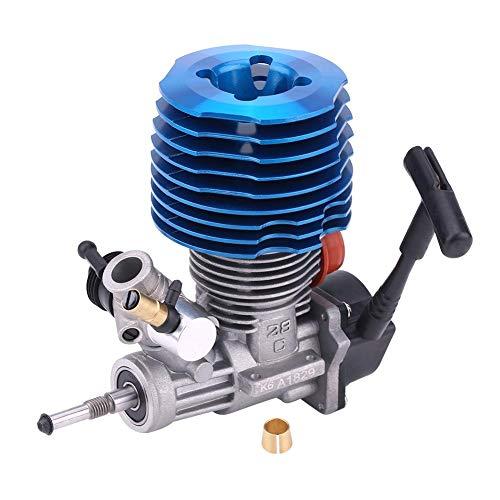 Dilwe Motor RC, 4.57CC 28 Accesorio de Motor del Arrancador 33000RPM del Extractor Lateral para RC 1: 8 Crawler Truck