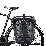 IPARTS EXPERT 3in1 Fahrradtasche Gepäckträgertasche mit Schloss als Fahrrad Rucksack und...