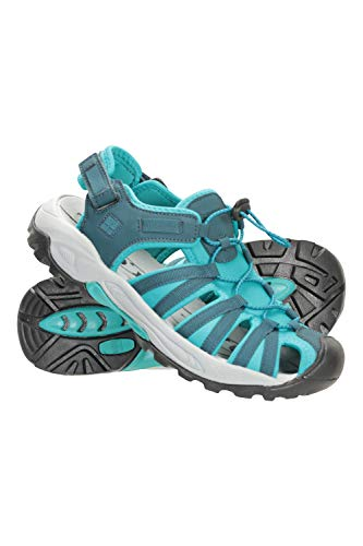 Mountain Warehouse Womens Drainage Shandals - Summer Shoes Sandals Teal Womens Shoe Size 10 US