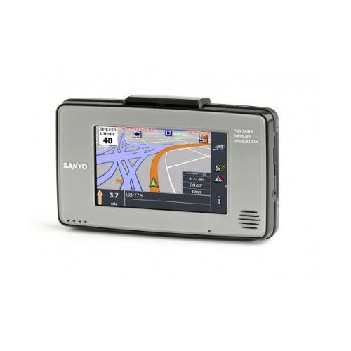 Review SANYO FISHER NVM4030 GPS, EASYSTREET NVM-4030, BLUETOOTH,