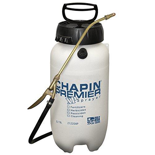 Chapin International 21220XP 2-Gallon Premier Pro XP Poly Sprayer for Fertilizer, Herbicides and Pesticides, White