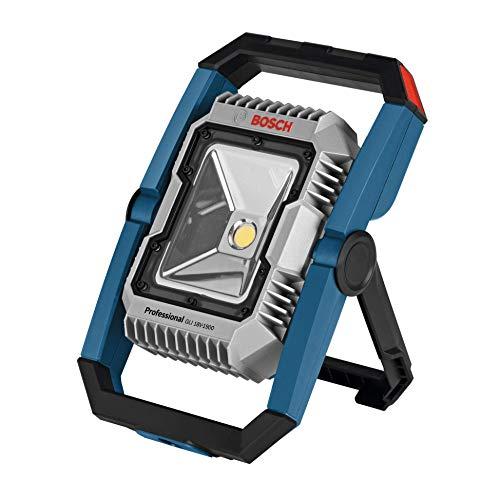 Bosch Professional 18V-1900 Led-bouwlamp, 18 V systeem, accu, maximaal Helderheid 1900 lumen, zonder batterijen en oplader, in doos)