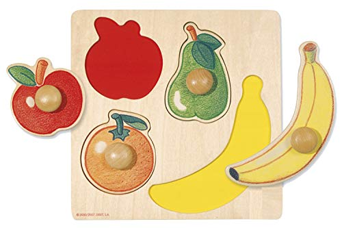 Goula- Puzzle Encajes Madera Frutas (Jumbo 54000)