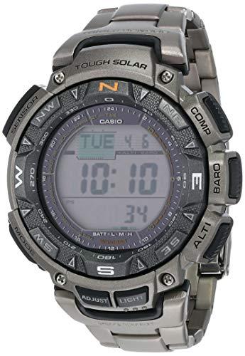 Casio Uomo Pro Trek Digitale Sport Solar Reloj (Modelo de Asia) PRG-240T-7D