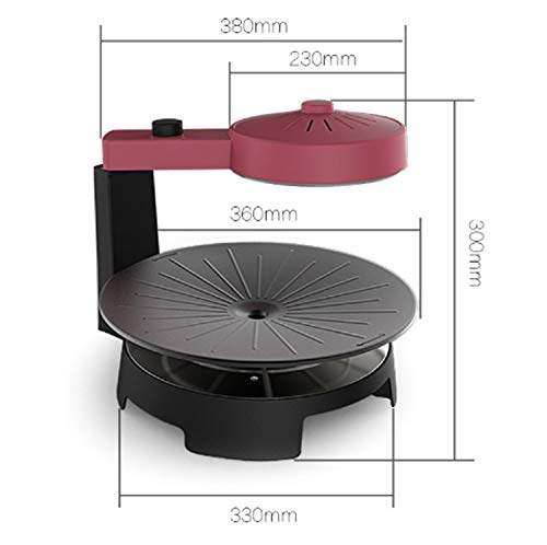 41Yskg71orL - WJJJ New BBQ Poke Hot Pot Non-Stick All Powerful Stovetop Grill Maschine Smoke-Free Baking Electric Multifunctional Pan Multi Purpose Pot Korean Style Black Kitchen Pot