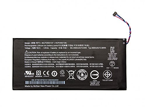 Acer Batterie 13,98Wh Original Iconia One 7 (B1-730)