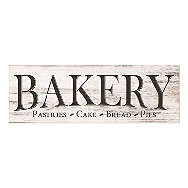 Bakery Wood Wall Sign 6x18 (No Frame)