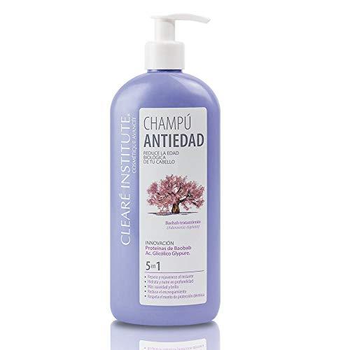 Clearé Institute. Anti-aging shampoo natuurlijke ingrediënten. 400 ml.