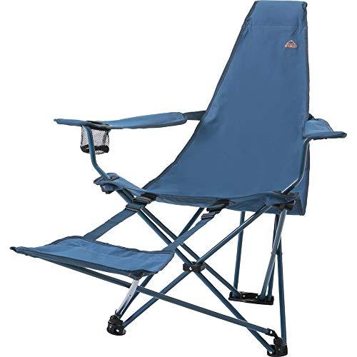 McKINLEY Camp 300 Relax Campingmöbel dunkelblau/blau One Size, einheitsgröße